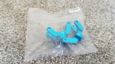 YR Aluminum Rear Hub /Knuckle Arm 2 Degree Red Tamiya TT01 TT-01E Ford Escort  • 5£