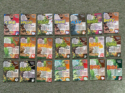 48 Ty Beanie Babies Trading Cards 2nd Edition Series 4 1999 • 1.50£