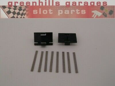 Greenhills Micro Scalextric Guide Blade Pair & 8 X Tinned Copper New Braids -... • 4.39£