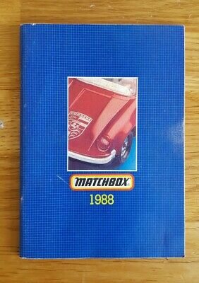 Matchbox 1988 Model Catalogue • 7.99£