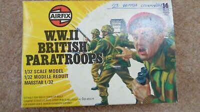 AIRFIX BOXED 1/32 WWII British Paratroopers • 3£