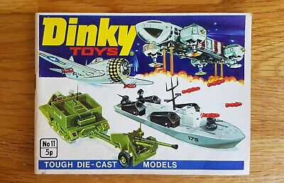 Dinky Toys Catalogue. 1975.  No 11 - Superb Condition. • 4.99£