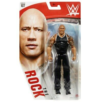 Wwe Wrestling Figure Mattel The Rock #107 Boxed Brand New • 16.99£