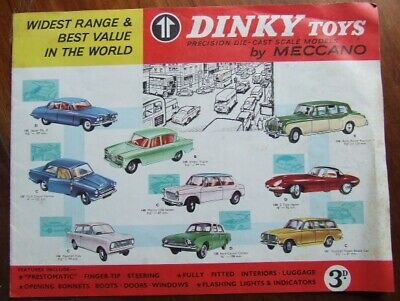 Dink Toys Catalogue, Brochure. 1964. • 10£