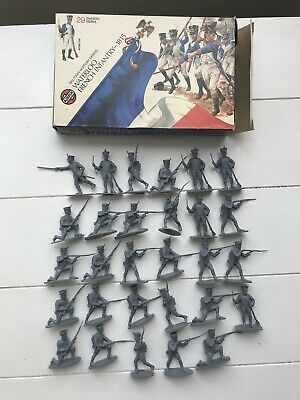 Vintage Airfix 1/32 Waterloo French Infantry Boxed Complete Great Example • 4.99£