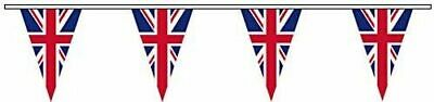 Spirit Of Air Triangular - UK Union Jack Pendant Bunting • 12.62£