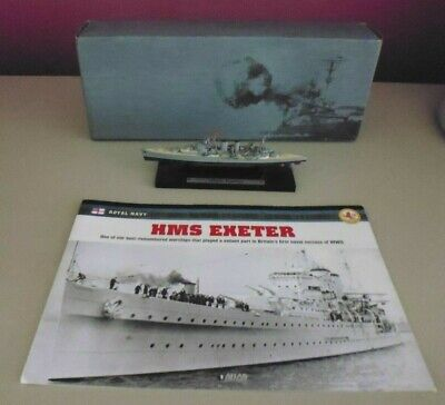 Atlas Editions 1/1250 - Legendary Warships Collection - Hms Exeter  (ter) • 11.50£