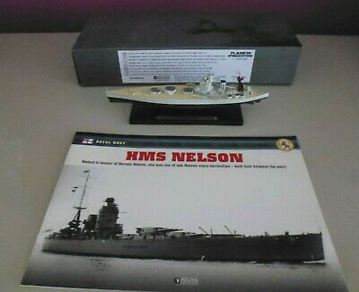 Atlas Editions 1/1250 - Legendary Warships Collection - Hms Nelson   (ter) • 11.50£