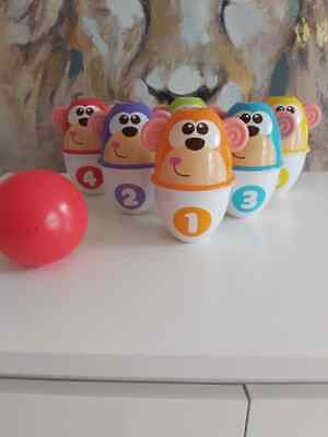 Chicco Monkey Strike Bowling Monkeys • 12£