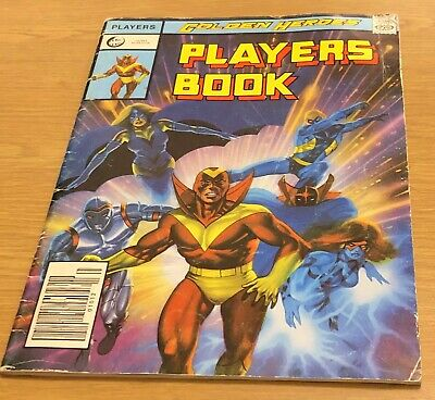 GOLDEN HEROES PLAYERS BOOK 1984 Book (Paperback) • 29.99£