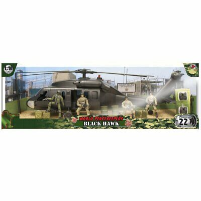 World Peacekeepers Black Hawk & 4 Figures • 39.98£