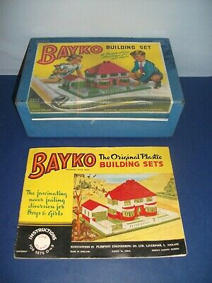 BAYKO BUILDING SET No. 2. • 50£