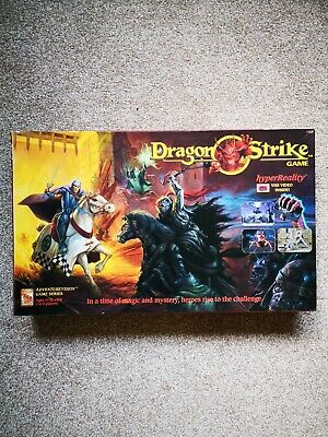 Dragon Strike Boardgame - New Condition - Unspooled Figures - D&D, Heroquest RPG • 199.99£