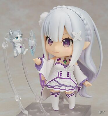 Re:Life In A Different World From Zero Emilia Figure Nendoroid 751 Q Version PVC • 23.99£