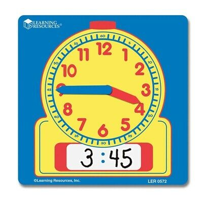 Children's Individual Wipe Clean Clock Learning Time • 2.49£