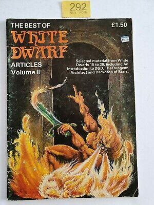 THE BEST OF WHITE DWARF ARTICLES VOL II GAMES WORKSHOP 1983 54 Pgs  • 19.99£