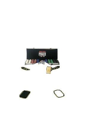 Poker Felt Table Top Drink And Chip Holders • 70£