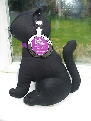 Gorgeous All Black Cat Weighted Door Stop • 18£