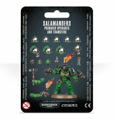 Warhammer 40,000 - Salamanders Primaris Upgrades And Transfers • 14.34£