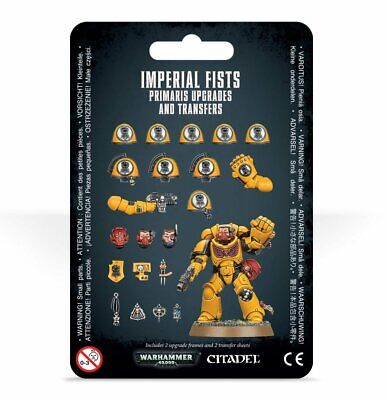 Warhammer 40,000 - Imperial Fists Primaris Upgrades And Transfers • 14.34£