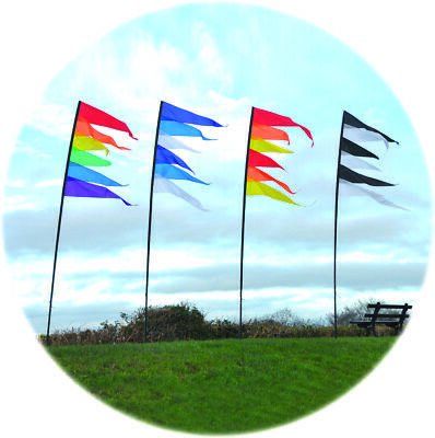 Spirit Of Air Streamer Banner Kit Red Orange And Yellow • 18.99£