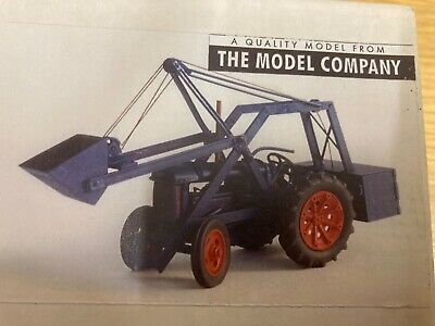1/43 Scale Model Company Fordson N C/w Chaseside Loader Tractor Tracteur Kit. • 58£