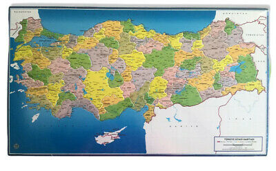 Turkey Cities Regions Map Jigsaw Tiling Art Puzzle Geography Educational • 14.95£
