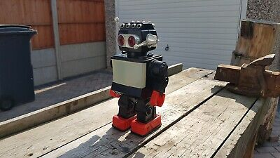 Vintage Plastic Robot Made In Hong Kong • 49.95£