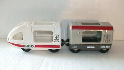 Brio Passenger Travel Train For Wooden Track - Fits Thomas Elc Learning Curve • 4.99£