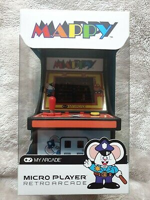 MAPPY - My Arcade Retro 6  Micro Player - Brand New & Sealed • 17.99£