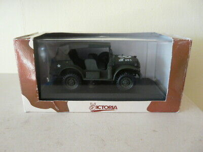 Boxed Victoria 1:43 Us Army Dodge Wc56 Closed Command Car  • 5.50£