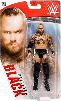 Wwe Wrestling Figure Mattel Aleister Black #108 Boxed Brand New • 19.99£