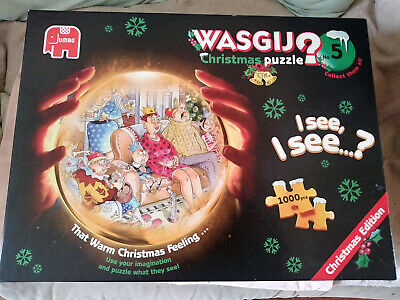 Wasjig 1000 Pieces (number 5) That Warm Christmas Feeling • 8£