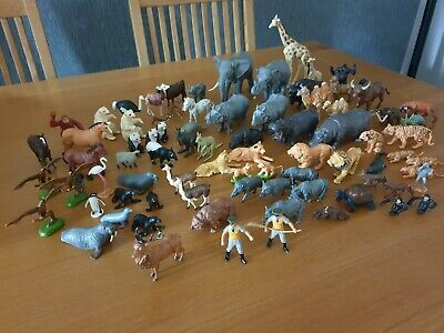 Vintage Britains Assorted Safari And Other Wild Animals & Two Zoo Keepers. • 15£