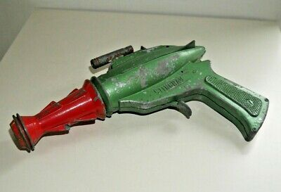 VINTAGE STINGRAY DCMT LONE STAR SPACE GUN 1950's RARE DIECAST TOY  G247 • 95£