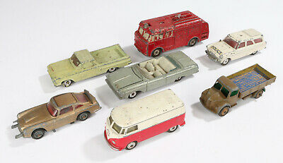 Vintage/Antique Job Lot Bundle Of Toy Cars,  Corgi And Dinky • 3.40£