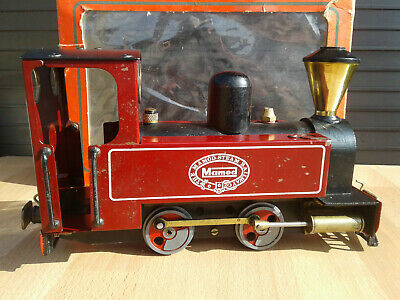 Mamod SL3 Steam Locomotive - Boxed • 150£