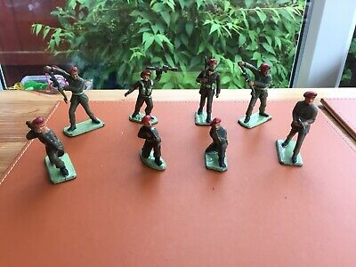 8 Vintage 1960's Crescent, Lone Star & Other Paratroops • 3.99£