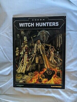 Warhammer 40k Codex: Witch Hunters 2003 • 5.50£
