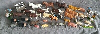 Britains Plastic Farm Animals Fencing Walls Large Lot Joblot Vgc See Pictures • 14.99£