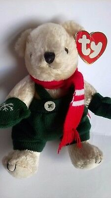 Ty Attic Treasures Collection Weatherby Jointed Teddy Bear Cold Hands Warm Hands • 15.99£