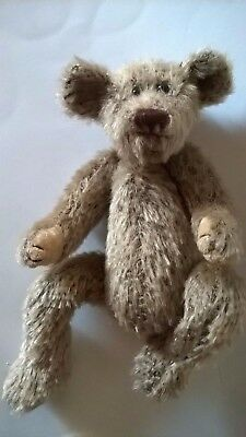 Ty Attic Teddy Bear Shelf Sitter 1993 Brown Mohair Look 9 Ins Retired Traditiona • 15.99£
