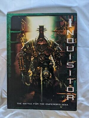Games Workshop Inquisitor Rulebook 2001 • 5£