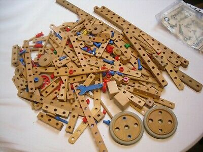 Bilofix Vintage Wooden Construction Toy 1960's • 16.89£