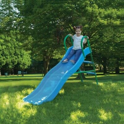 Rtn Wavy Slide & Step In Water Feature Childrens Toys Play Area Strong & Safe • 50£