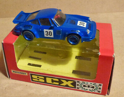 Scalextric PORSCHE 911 RS - Repainted Blue • 16£