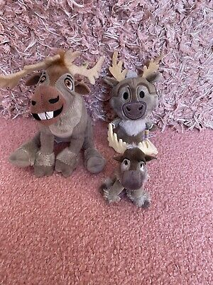 Sven From Frozen Soft Toys - Immaculate Condition • 10£