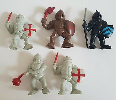 Knights Figures X 5, Unbranded, Used Condition • 3.50£