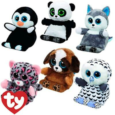 Ty Peek A Boo Tablet Holder Buddy Plush  With Screen Wipe - 4 To Choose From • 19.75£