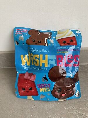 Disney Parks Wishables Snack Food Series Plush Soft Toy Mystery Bag • 20£